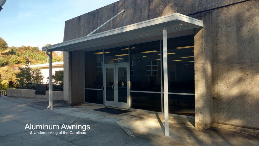 Commercial Awnings - Aluminum Awnings & Underdecking of ...