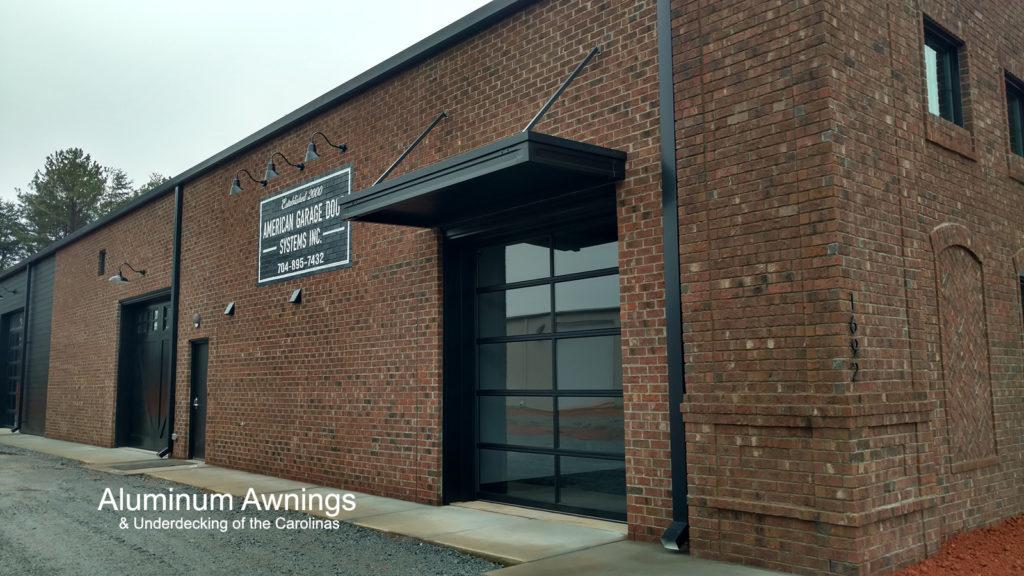 custom commercial awnings