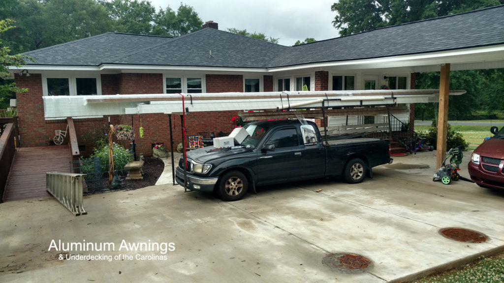 metal carport awning