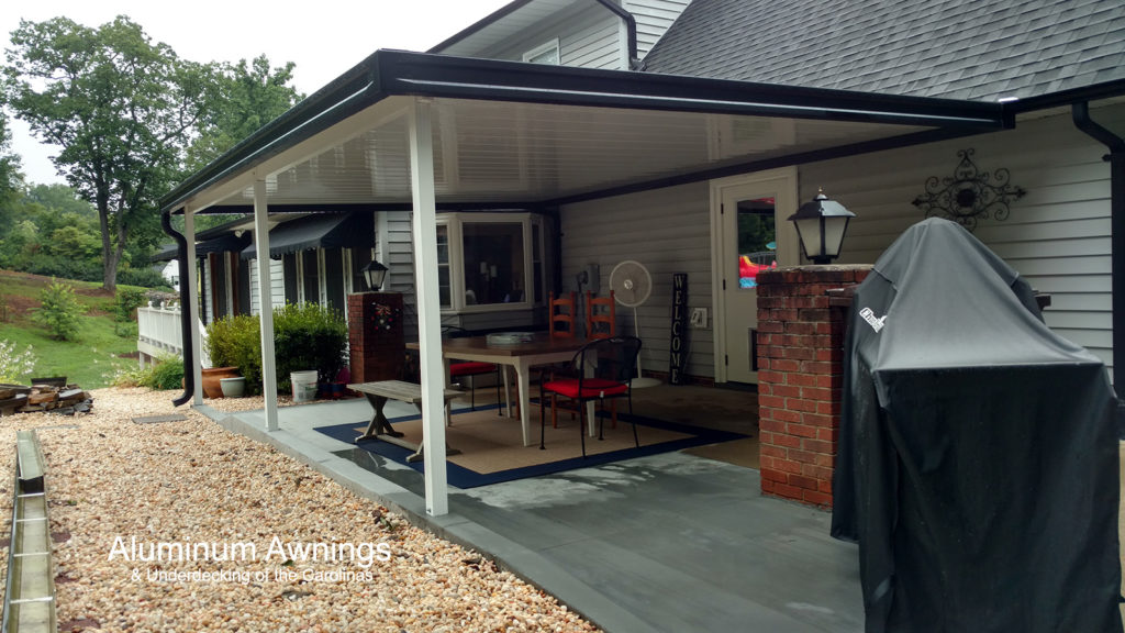 metal house awnings