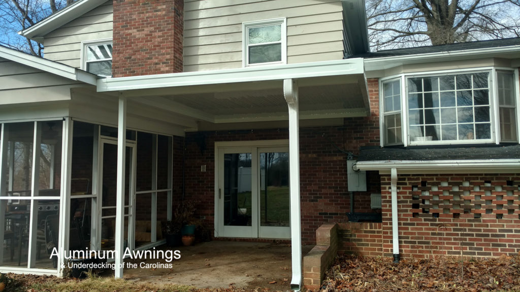 Residential Awnings – Aluminum Awnings & Underdecking of the