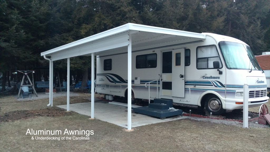 rv door awning